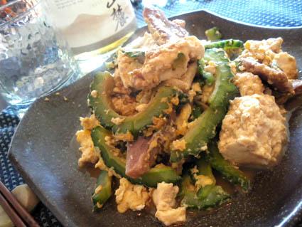 20120909 島豆腐とゴーヤのチャンプルー.jpg