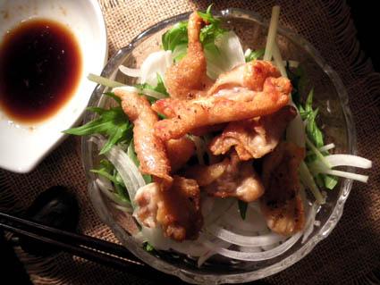 20121104 鶏皮サラダ2.jpg