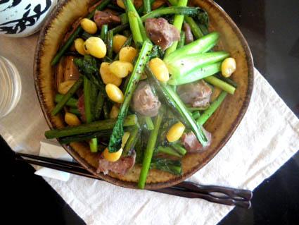 20121118 チンゲン菜と砂肝炒め3.jpg