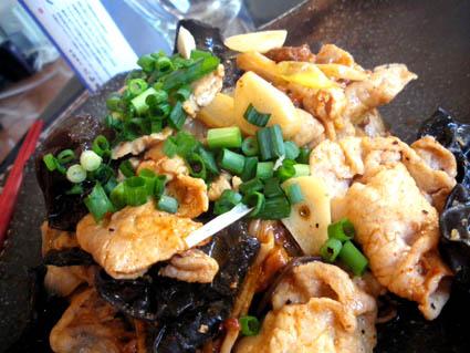 20121209 豚肉ときくらげのぴり辛炒め3.jpg
