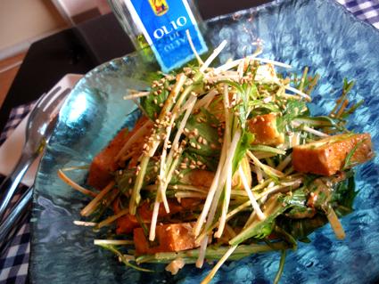 20130106 厚揚げと水菜のコチュジャンサラダ.jpg