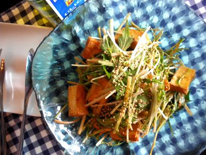 20130106 厚揚げと水菜のコチュジャンサラダ2.jpg