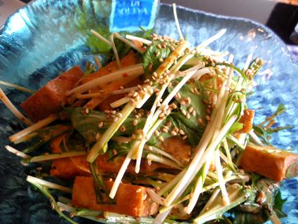 20130106 厚揚げと水菜のコチュジャンサラダ3.jpg