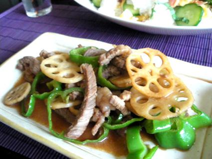 20130901 牛肉とピーマンのオイスターソース炒め.jpg