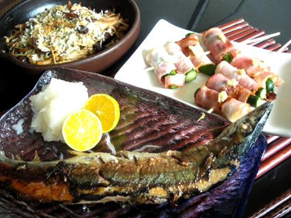 20130908 秋刀魚塩焼き定食.jpg