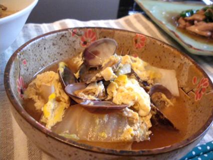 20131014 あさりの卵とじ3.jpg