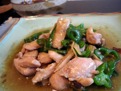 20131014 鶏肉とピーマン炒めナンプラー風2.jpg