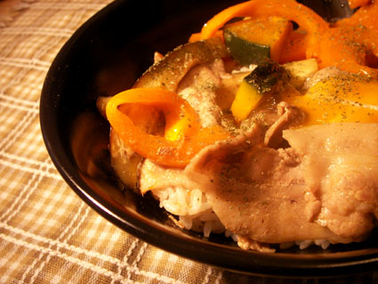 20080705 夏野菜丼.jpg