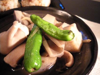 20130915 鮭白子とれんこんの煮物2.jpg