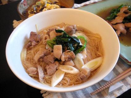 20131014 鶏肉のスープビーフン.jpg