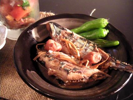 20131116 秋刀魚の梅干し煮.jpg