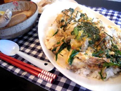 20131201 にら玉豆腐丼.jpg