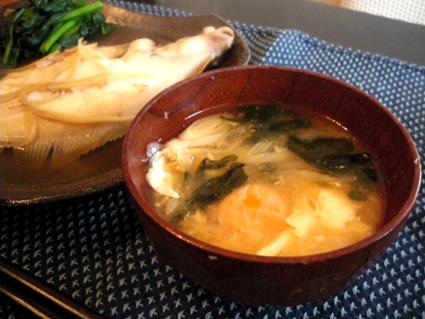 20131201 月見わかめ味噌汁.jpg