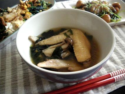 20131201 鶏手羽わかめスープ.jpg